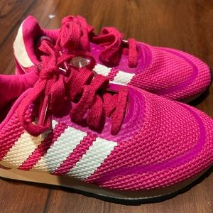 Girls adidas sneakers. Gently used